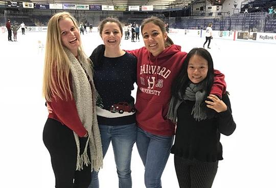 Học sinh quốc tế tại Orono High School, Maine