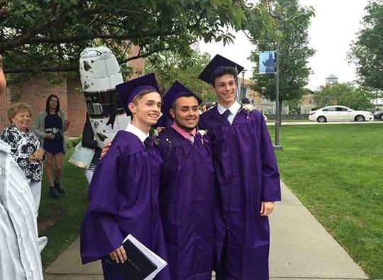 Mt Hope High School graduation