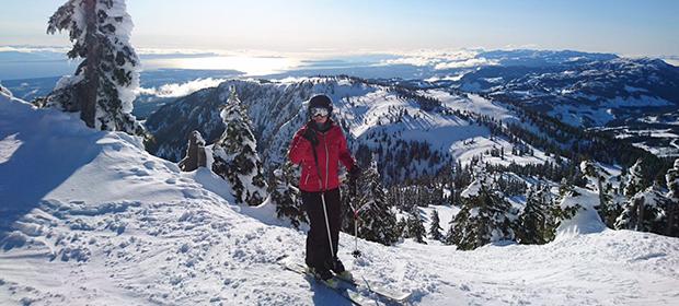 Ski i Rockey Mountaina
