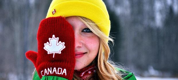vinter i Canada