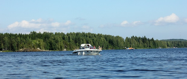 Boating in Finland