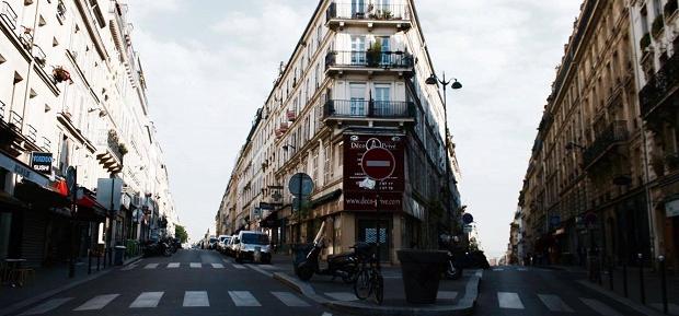Gatebilde fra Frankrike