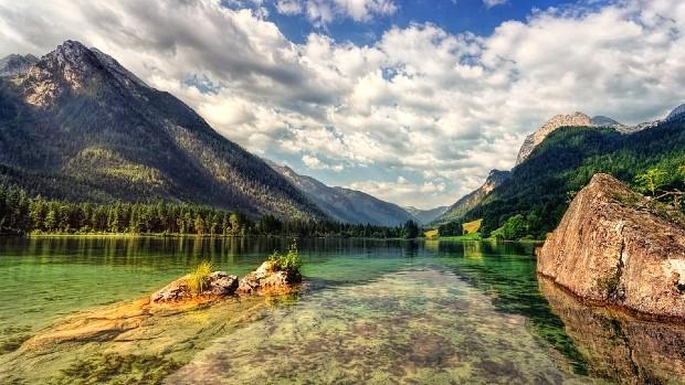 Nydelig natur i Tyskland