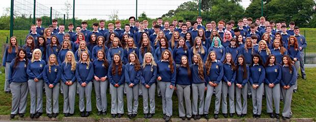 Skolebillede fra Breifne College