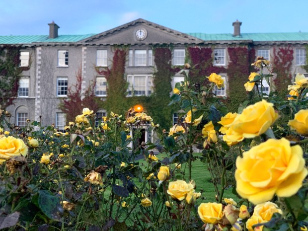 Vakker skolebyggling i Irland