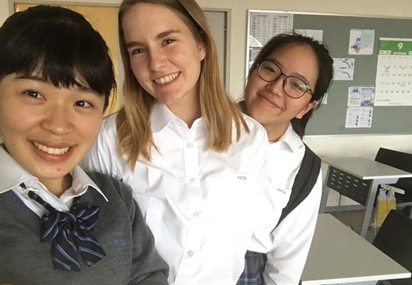 exchange student in Cina