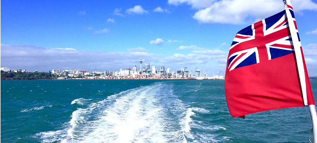 båttur i New Zealand