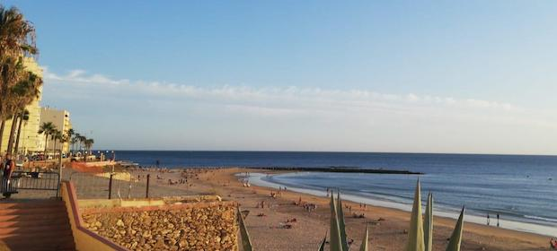 Reis på utveksling til Spania - opplev stranden i Cádiz