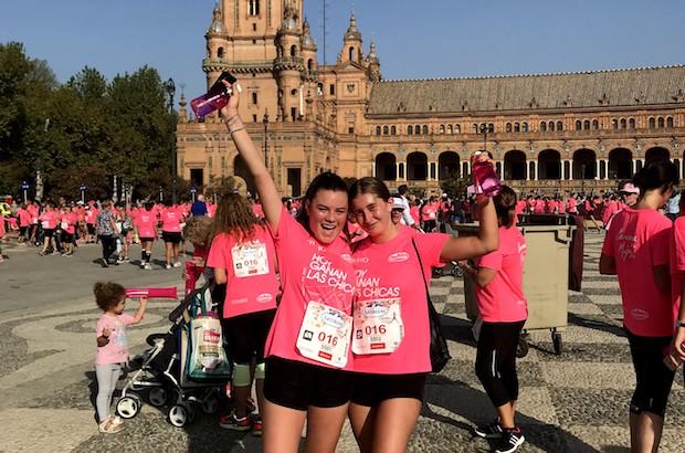 le nostre exchange student partecipano alla color run a Madrid