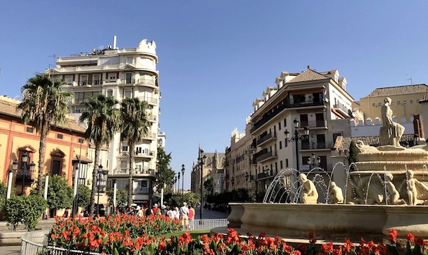 Tyypillistä Sevillaa vaihto-oppilaan silmin
