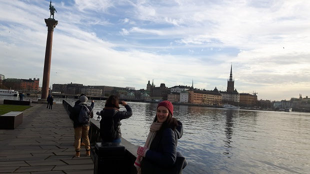 Exchange students in Stockholm