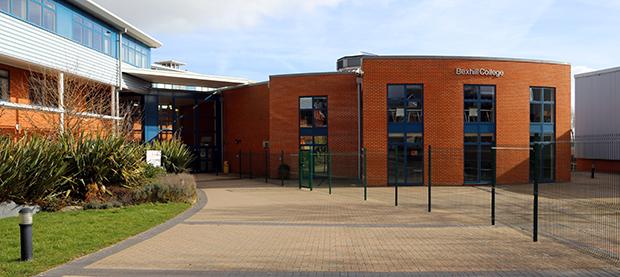 Bexhill College entré