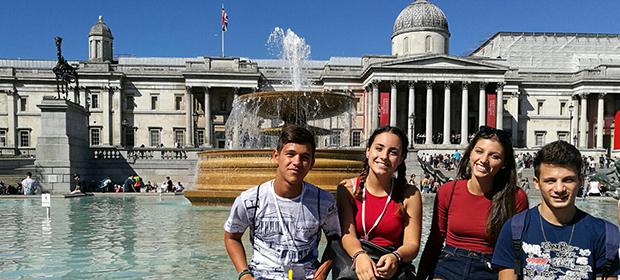 Utvekslingsstudenter i London