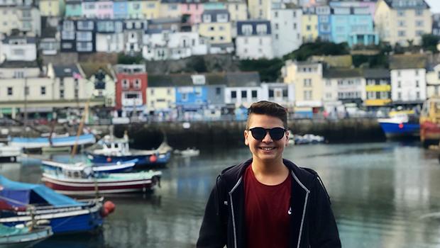 utvekslingsstudent i Storbritannia