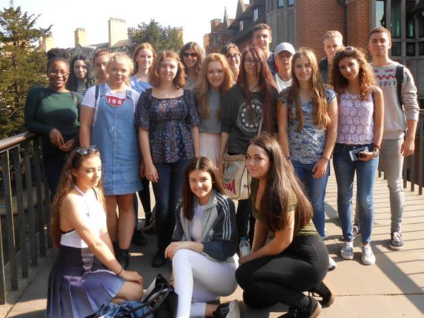 Internasjonale elever på Loreto College