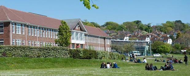 Reis på utveksling til populære Varndean College i England