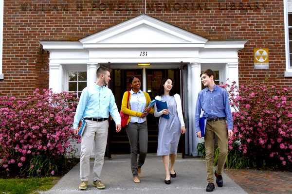 Exchange student al college americano