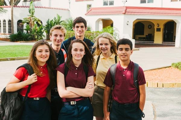 Exchnage student in una boarding school americana
