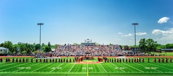 Cerimonia della graduation in USA