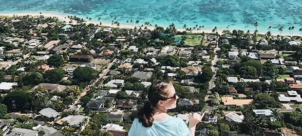 områdeønske til Hawaii