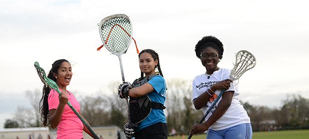 Utvekslingsstudenter spiller Lacrosse i USA