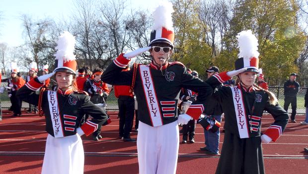 amerikansk skolemusikk i uniform