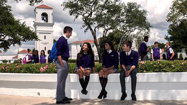 Utvekslingsstudenter i solfylte Florida