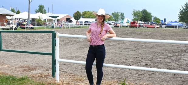 Anche in Indiana i nostri exchange student vivono in ranch and vestono da cow-girl
