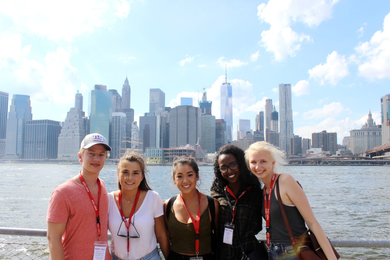 Explorius exchange students in new york