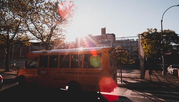 Skolebus i USA