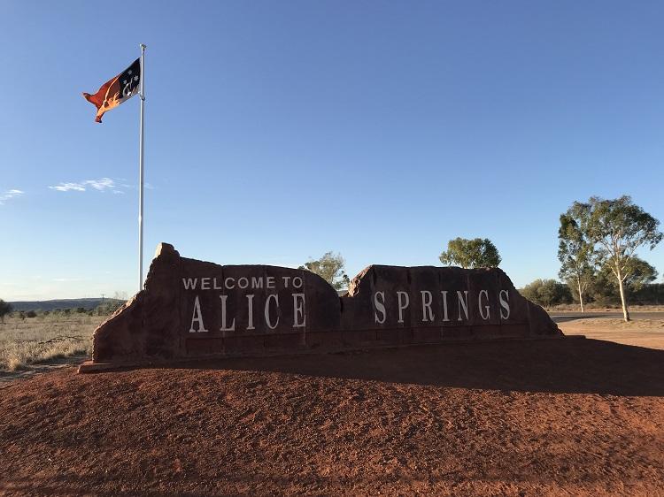 Alice Springs Australiassa