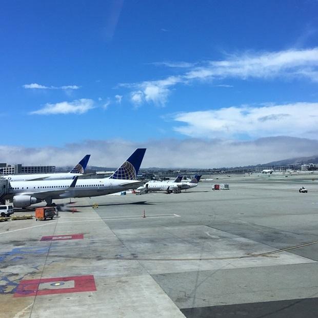 Vaihtari San Franciscon lentokentällä