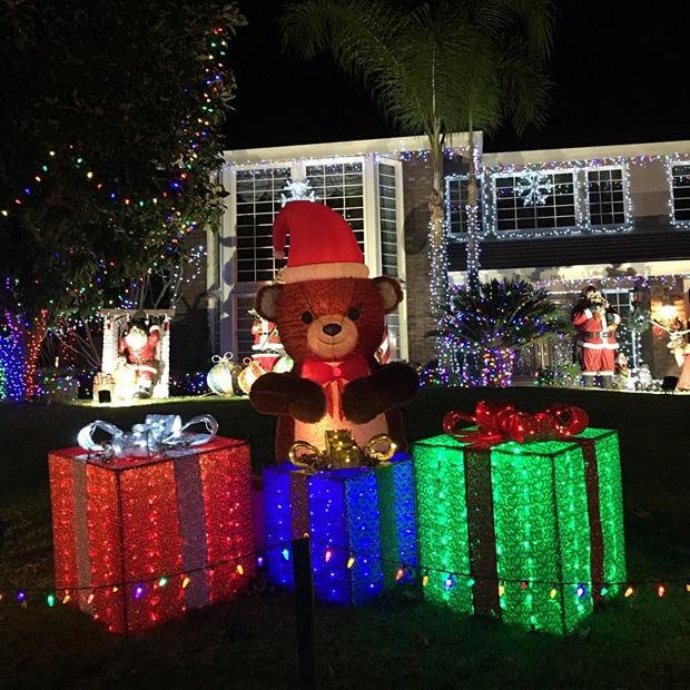 Amerikkalaisia joulukoristeita