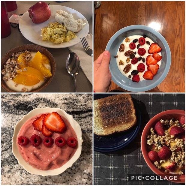 Vaihto-oppilaan aamupala vaihdossa