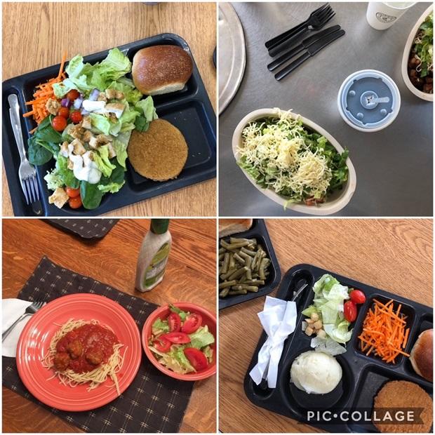 Vaihto-oppilaan lounas vaihdossa