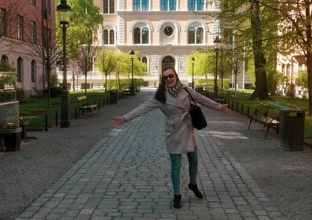 Vaihto-oppilas Tukholmassa
