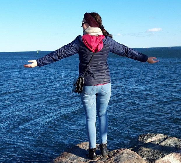 Vaihto-oppilas Pohjanlahden rannalla