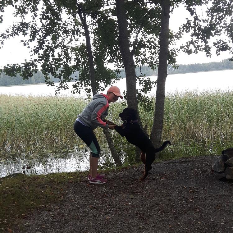 Vaihtari tutustumassa Ruotsin luontoon