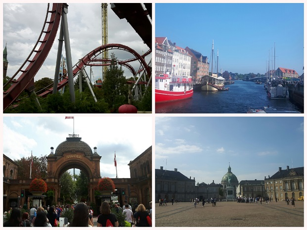 Tivoli and other sights in Copenhagen