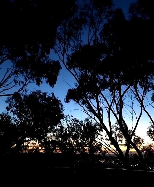 Australialainen auringonlasku