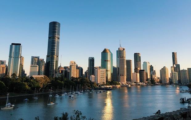 Näköala Brisbanessa