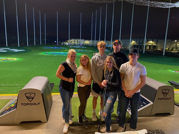 group picture topgolf