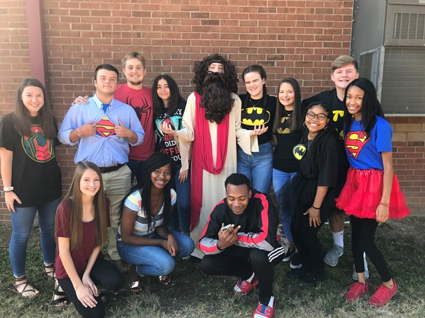 homecoming super hero day