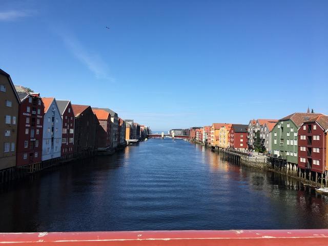 havnen i Trondheim