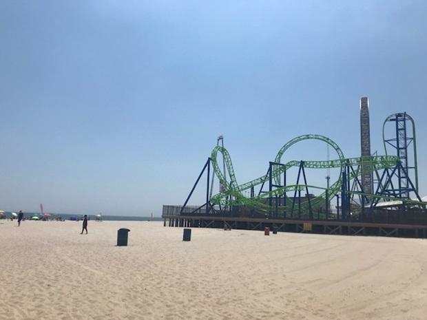 Strand i Jersey Shore