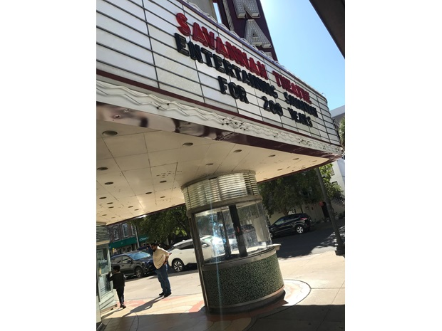 Bilde av en kino i Georgia, USA