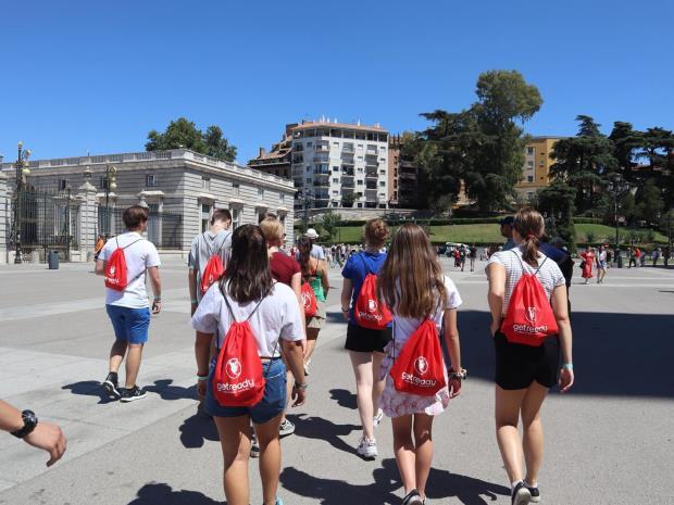 Utvekslingsstudenter i Spania