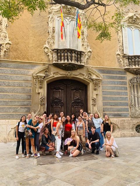 Gruppebilde fra Soft Landing Camp i Madrid