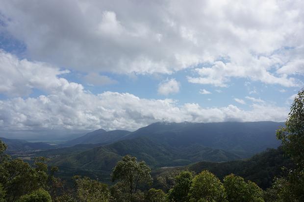 Utsikt över berg i Australien