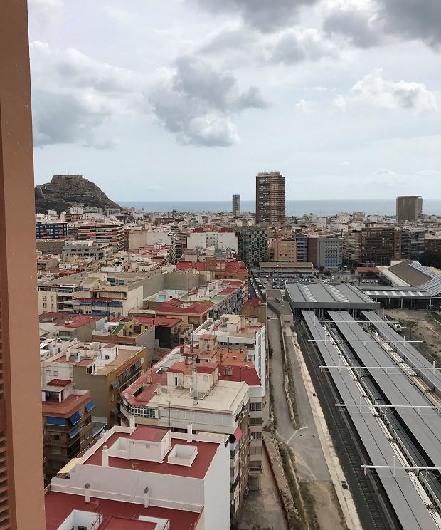 Utsikt över stan
